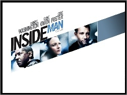 Jodie Foster, Denzel Washington, Inside Man, Clive Owen